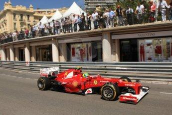 © Octane Photographic Ltd. 2012. F1 Monte Carlo - Practice 1. Thursday  24th May 2012. Felipe Massa - Ferrari. Digital Ref : 0350cb7d7544