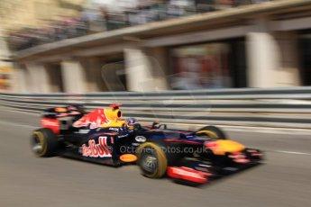 © Octane Photographic Ltd. 2012. F1 Monte Carlo - Practice 1. Thursday  24th May 2012. Sebastian Vettel - Red Bull. Digital Ref : 0350cb7d7610