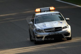 © 2012 Octane Photographic Ltd. Italian GP Monza - Friday 7th September 2012 - F1 Practice 1. Mercedes Medical car. Digital Ref :  0504cb7d1929