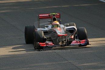 © 2012 Octane Photographic Ltd. Italian GP Monza - Friday 7th September 2012 - F1 Practice 1. McLaren MP4/27 - Lewis Hamilton. Digital Ref : 0504cb7d1962