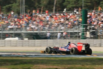 © 2012 Octane Photographic Ltd. Italian GP Monza - Friday 7th September 2012 - F1 Practice 1. Toro Rosso STR7 - Jean-Eric Vergne. Digital Ref : 0505lw1d9151