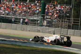 © 2012 Octane Photographic Ltd. Italian GP Monza - Friday 7th September 2012 - F1 Practice 1. Sauber C31 - Sergio Perez. Digital Ref : 0505lw1d9194