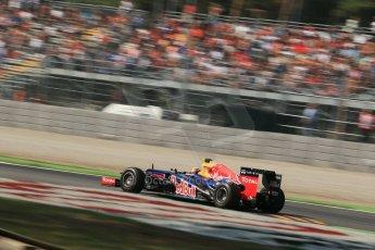 © 2012 Octane Photographic Ltd. Italian GP Monza - Friday 7th September 2012 - F1 Practice 1. Red Bull RB8 - Mark Webber. Digital Ref : 0505lw1d9334