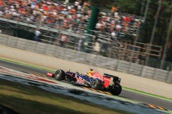 © 2012 Octane Photographic Ltd. Italian GP Monza - Friday 7th September 2012 - F1 Practice 1. Red Bull RB8 - Sebastian Vettel. Digital Ref : 0505lw1d9357