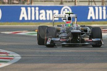 © 2012 Octane Photographic Ltd. Italian GP Monza - Friday 7th September 2012 - F1 Practice 1. Sauber C31 - Sergio Perez. Digital Ref : 0505lw7d5361