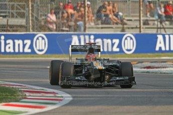 © 2012 Octane Photographic Ltd. Italian GP Monza - Friday 7th September 2012 - F1 Practice 1. Caterham CT01 - Heikki Kovalainen. Digital Ref : 0505lw7d5377