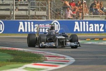 © 2012 Octane Photographic Ltd. Italian GP Monza - Friday 7th September 2012 - F1 Practice 1. Williams FW34 - Valtteri Bottas. Digital Ref : 0505lw7d5388