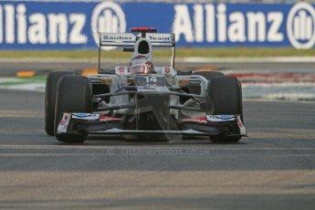 © 2012 Octane Photographic Ltd. Italian GP Monza - Friday 7th September 2012 - F1 Practice 1. Sauber C31 - Kamui Kobayashi. Digital Ref : 0505lw7d5437