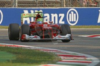 © 2012 Octane Photographic Ltd. Italian GP Monza - Friday 7th September 2012 - F1 Practice 1. Ferrari F2012 - Felipe Massa. Digital Ref : 0505lw7d5445