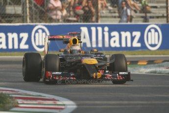 © 2012 Octane Photographic Ltd. Italian GP Monza - Friday 7th September 2012 - F1 Practice 1. Red Bull RB8 - Sebastian Vettel. Digital Ref : 0505lw7d5469