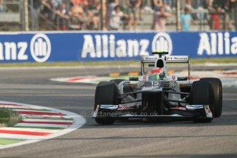 © 2012 Octane Photographic Ltd. Italian GP Monza - Friday 7th September 2012 - F1 Practice 1. Sauber C31 - Sergio Perez. Digital Ref : 0505lw7d5675