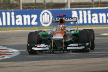 © 2012 Octane Photographic Ltd. Italian GP Monza - Friday 7th September 2012 - F1 Practice 1. Force India VJM05 - Paul di Resta. Digital Ref : 0505lw7d5872