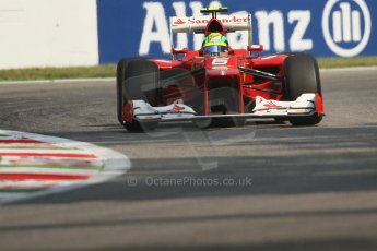 © 2012 Octane Photographic Ltd. Italian GP Monza - Friday 7th September 2012 - F1 Practice 1. Ferrari F2012 - Felipe Massa. Digital Ref : 0505lw7d6178