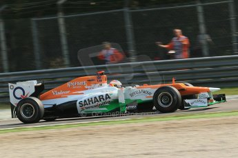 © 2012 Octane Photographic Ltd. Italian GP Monza - Saturday 8th September 2012 - F1 Practice 3. Force India VJM05 - Paul di Resta. Digital Ref : 0512lw1d1077