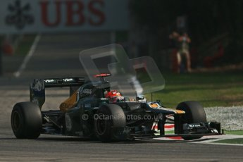© 2012 Octane Photographic Ltd. Italian GP Monza - Saturday 8th September 2012 - F1 Practice 3. Caterham CT01 - Heikki Kovalainen. Digital Ref :