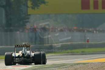 © 2012 Octane Photographic Ltd. Italian GP Monza - Saturday 8th September 2012 - F1 Practice 3. Lotus E20 - Kimi Raikkonen. Digital Ref :