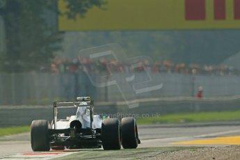 © 2012 Octane Photographic Ltd. Italian GP Monza - Saturday 8th September 2012 - F1 Practice 3. Sauber C31 - Sergio Perez. Digital Ref :