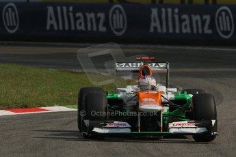 © 2012 Octane Photographic Ltd. Italian GP Monza - Saturday 8th September 2012 - F1 Practice 3. Force India VJM05 - Paul di Resta. Digital Ref : 0512lw7d7488