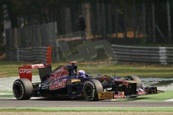 © 2012 Octane Photographic Ltd. Italian GP Monza - Saturday 8th September 2012 - F1 Practice 3. Toro Rosso STR7 - Daniel Ricciardo. Digital Ref :
