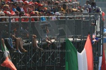 World © Octane Photographic Ltd. Formula 1 Italian GP, 9th September 2012. Race build up. Digital Ref : 0518lw1d0012