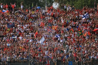 World © Octane Photographic Ltd. Formula 1 Italian GP, 9th September 2012. The electric atmosphere of Monza! Digital Ref : 0518lw1d9020