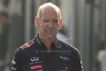 © 2012 Octane Photographic Ltd. Italian GP Monza - Saturday 8th September 2012 - F1 Paddock. Adrian Newey - Red Bull. Digital Ref :