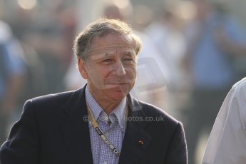 World © Octane Photographic Ltd. Formula 1 Italian GP, F1 Paddock. 9th September 2012. Jean Todt - Head of FIA. Digital Ref : 0517lw7d8662