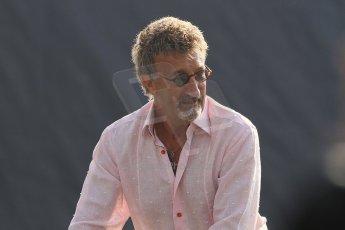 World © Octane Photographic Ltd. Formula 1 Italian GP, F1 Paddock. 9th September 2012. Eddie Jordan - BBC F1. Digital Ref : 0517lw7d8746