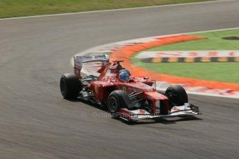 © 2012 Octane Photographic Ltd. Italian GP Monza - Friday 7th September 2012 - F1 Practice 2. Ferrari F2012 - Fernando Alonso. Digital Ref :