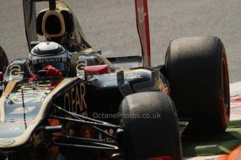 © 2012 Octane Photographic Ltd. Italian GP Monza - Friday 7th September 2012 - F1 Practice 2. Lotus E20 - Kimi Raikkonen. Digital Ref :