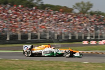 © 2012 Octane Photographic Ltd. Italian GP Monza - Friday 7th September 2012 - F1 Practice 2. Force India VJM05 - Paul di Resta. Digital Ref :