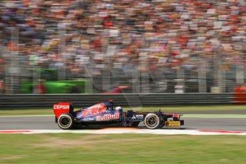 © 2012 Octane Photographic Ltd. Italian GP Monza - Friday 7th September 2012 - F1 Practice 2. Toro Rosso STR7 - Daniel Ricciardo. Digital Ref :