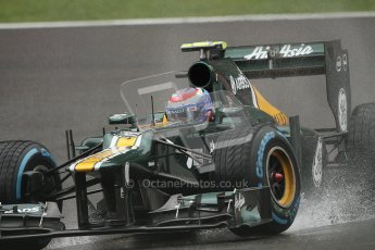 © 2012 Octane Photographic Ltd. Belgian GP Spa - Friday 31st August 2012 - F1 Practice 1. Caterham CT01 - Vitaly Petrov. Digital Ref : 0481lw7d2264