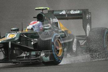 © 2012 Octane Photographic Ltd. Belgian GP Spa - Friday 31st August 2012 - F1 Practice 1. Caterham CT01 - Vitaly Petrov. Digital Ref : 0481lw7d2396