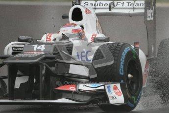 © 2012 Octane Photographic Ltd. Belgian GP Spa - Friday 31st August 2012 - F1 Practice 1. Sauber C31 - Kamui Kobayashi. Digital Ref : 0481lw7d2431