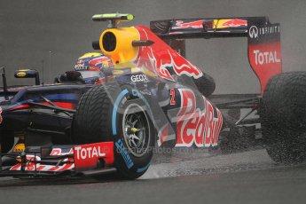 © 2012 Octane Photographic Ltd. Belgian GP Spa - Friday 31st August 2012 - F1 Practice 1. Red Bull RB8 - Mark Webber. Digital Ref : 0481lw7d2441
