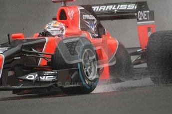 © 2012 Octane Photographic Ltd. Belgian GP Spa - Friday 31st August 2012 - F1 Practice 1. Marussia MR01 - Timo Glock. Digital Ref : 0481lw7d2510
