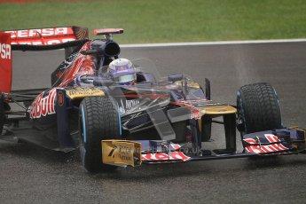 © 2012 Octane Photographic Ltd. Belgian GP Spa - Friday 31st August 2012 - F1 Practice 1. Toro Rosso STR7 - Daniel Ricciardo. Digital Ref : 0481lw7d2527