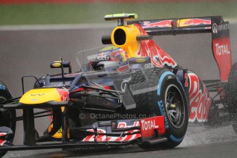 © 2012 Octane Photographic Ltd. Belgian GP Spa - Friday 31st August 2012 - F1 Practice 1. Red Bull RB8 - Mark Webber. Digital Ref : 0481lw7d2551