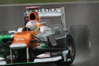 © 2012 Octane Photographic Ltd. Belgian GP Spa - Friday 31st August 2012 - F1 Practice 1. Force India VJM05 - Paul di Resta. Digital Ref : 0481lw7d2581