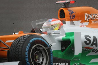 © 2012 Octane Photographic Ltd. Belgian GP Spa - Friday 31st August 2012 - F1 Practice 1. Force India VJM05 - Paul di Resta. Digital Ref : 0481lw7d2586