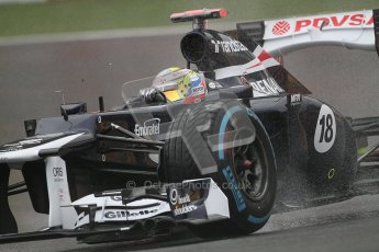 © 2012 Octane Photographic Ltd. Belgian GP Spa - Friday 31st August 2012 - F1 Practice 1. Williams FW34 - Pastor Maldonado. Digital Ref : 0481lw7d2620
