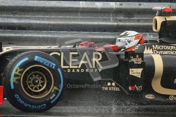 © 2012 Octane Photographic Ltd. Belgian GP Spa - Friday 31st August 2012 - F1 Practice 1. Lotus E20 - Kimi Raikkonen. Digital Ref : 0481lw7d2656
