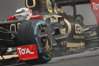 © 2012 Octane Photographic Ltd. Belgian GP Spa - Friday 31st August 2012 - F1 Practice 1. Lotus E20 - Kimi Raikkonen. Digital Ref : 0481lw7d2781