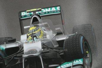 © 2012 Octane Photographic Ltd. Belgian GP Spa - Friday 31st August 2012 - F1 Practice 1. Mercedes W03 - Nico Rosberg. Digital Ref : 0481lw7d3036