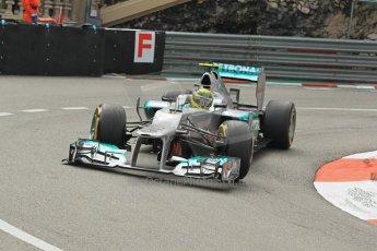 © Octane Photographic Ltd. 2012. F1 Monte Carlo - Practice 2. Thursday 24th May 2012. Nico Rosberg - Mercedes. Digital Ref : 0352cb1d5814