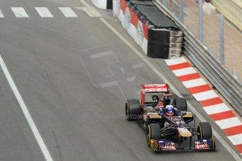 © Octane Photographic Ltd. 2012. F1 Monte Carlo - Practice 2. Thursday 24th May 2012. Daniel Ricciardo - Toro Rosso. Digital Ref : 0352cb1d5873