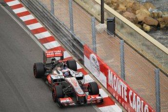 © Octane Photographic Ltd. 2012. F1 Monte Carlo - Practice 2. Thursday 24th May 2012. Jenson Button - McLaren. Digital Ref : 0352cb1d5922