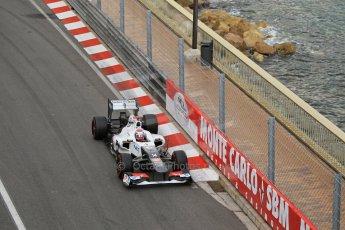 © Octane Photographic Ltd. 2012. F1 Monte Carlo - Practice 2. Thursday 24th May 2012. Kamui Kobayashi - Sauber. Digital Ref : 0352cb1d5937
