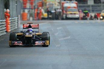 © Octane Photographic Ltd. 2012. F1 Monte Carlo - Practice 2. Thursday 24th May 2012. Daniel Ricciardo - Toro Rosso. Digital Ref : 0352cb1d6060